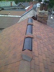Ridge Vent | Re-Roof - Mr Roof Repair (MrRoofRepair.ca) Tags: toronto vent etobicoke mississauga gta oakville roofing flatroof roofrepair reroof ridgevent hipridge roofingpictures roofcontractor mrroofrepair shinglerepair torontoroofer shinglereplace
