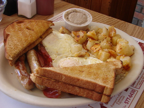 Big Breakfast from Rolly's Diner