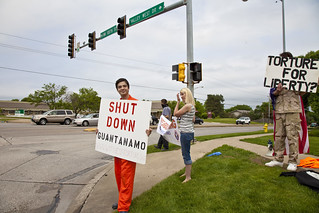 Anti-Torture Vigil - Week 50: Shut Down Guantanamo