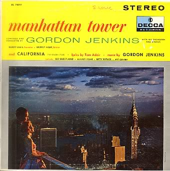 Gordon Jenkins Manhattan Tower LP (1956)