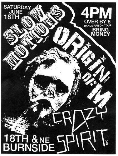 6/18/11 SlowMotions/OriginOfM/CrazySpirit