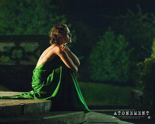 keira knightley in atonement green. Atonement-green dress Keira