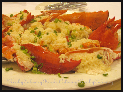 Lobster in Garlic Sauce