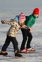 DSC_0964 (Wiro Oudejans (Wiro.Karen)) Tags: ice amsterdam meer iceskating skating nederland viking hema slee ijs schaatsen schaats holysloot ijspret natuurijs kativig randsdorp