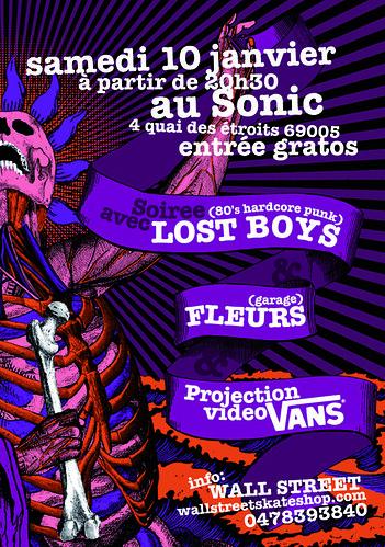 Vans samedi 10 janvier (flyer)