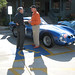 Bob Bondurant with one of the Ferrari 250 GTOs.