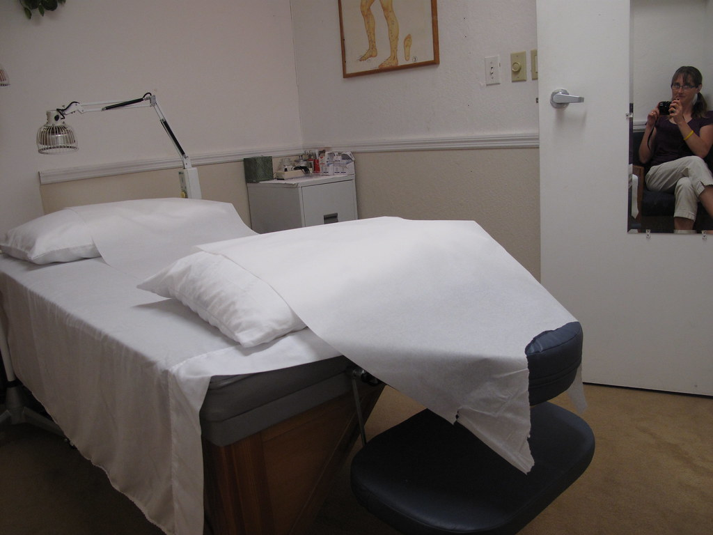 Acupuncture clinic, inside