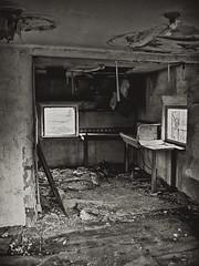 Everything But The Kitchen Sink (taylorkoa22) Tags: old bw house newmexico abandoned film nikon kodak nm cerrillos bw400cn n6006 marcgutierrez