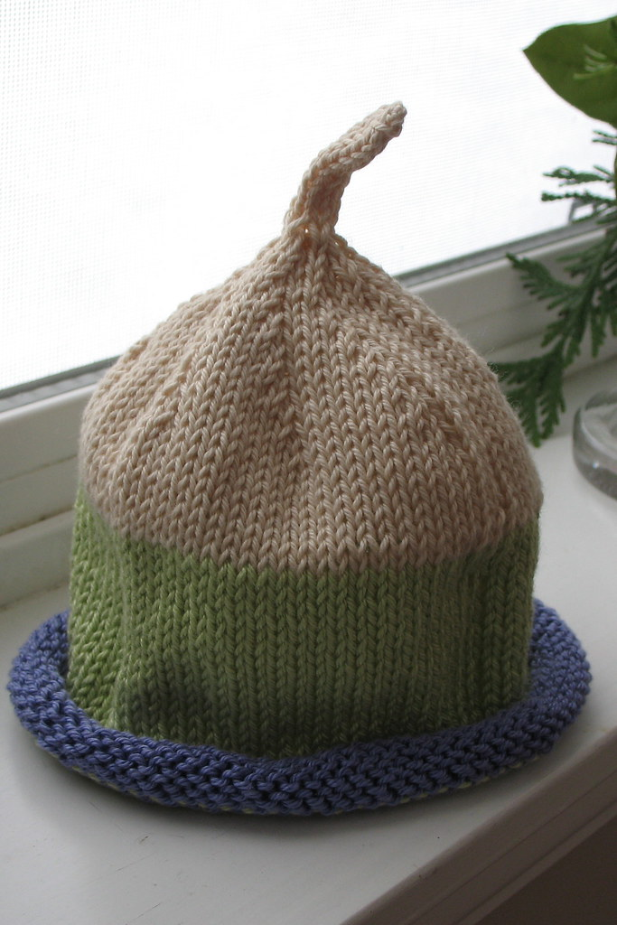 baby hat - for madeline
