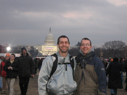 Tim and Dan in Washington, D.C.