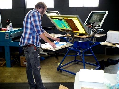 prints - setting up