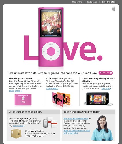 Thumb E-mail de Apple para este San Valentín