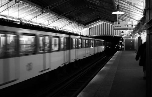 Paris Noir & Blanc, Métro 3.1