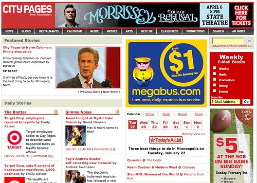 CityPages.com Viewed from Vancouver, BC