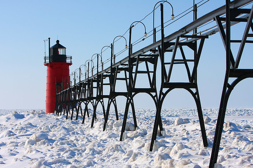 Lighthouse, South Haven, MI