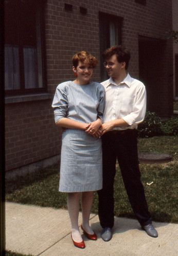 Eileen, Carl in Syracuse 1984