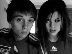 When cough drops taste like heroin. (dance.selena) Tags: old blackandwhite me photoshop upload drops crazy pretty glare soccer brandon made messy taste heroin cough coughdrops