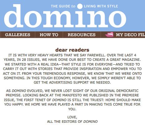 domino =(
