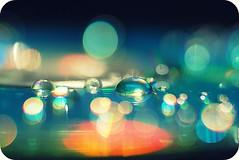 Bokehlicious :) (Aubirdy) Tags: water colors girl droplets drops dof bokeh cd twitter bokehlicious morebokeh aubirdy bokehrama
