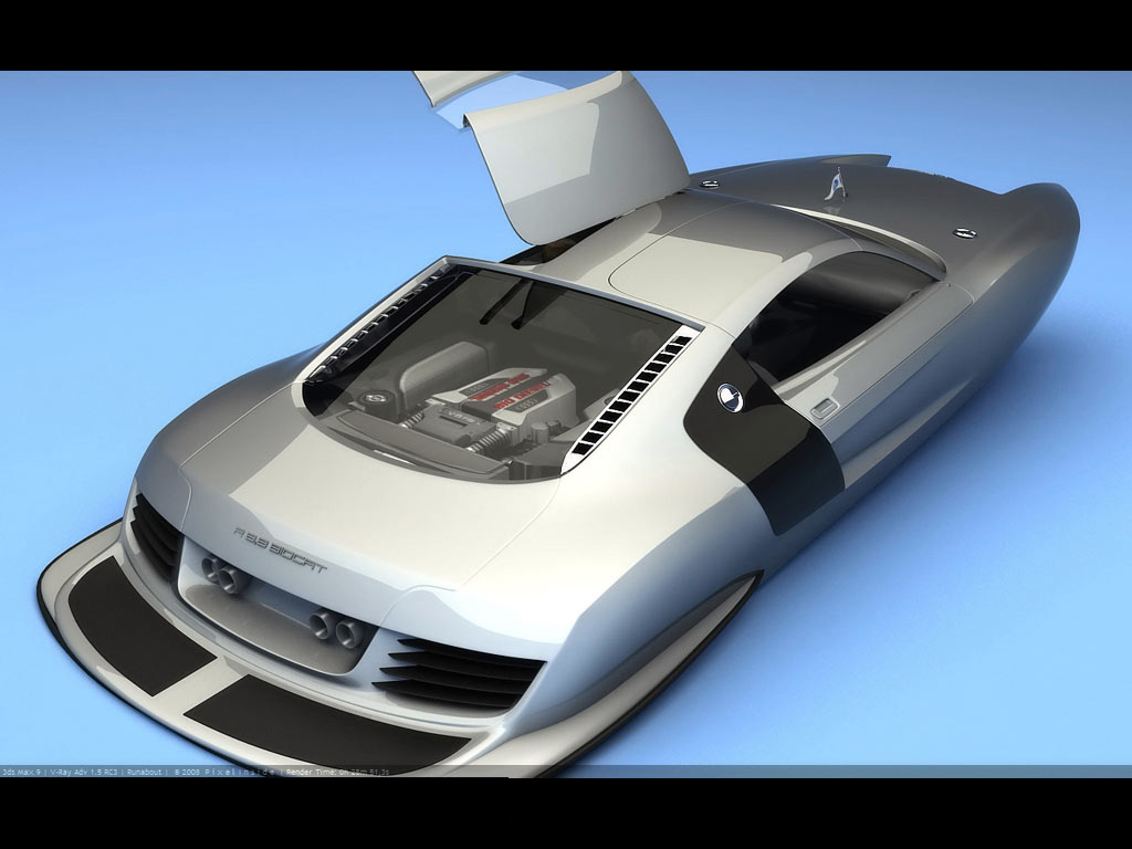 Audi R8 Speed Boat Concept Corsa Sport For Vauxhall