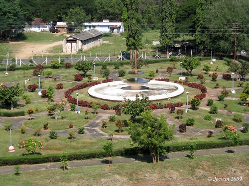 Aliyar dam, Fountain