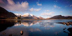 loch Awe, pano (Spencer Bowman) Tags: panorama castle scotland getty loch argyle lochawe kilchurncastle scottishloch platinumphoto goldcollection elitephotography