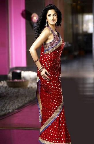 Katrina Kaif in sari