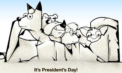 DogPile President's Day Logo