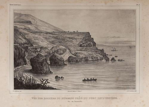 005- Vista de las rocas del Burgado cerca del puerto de la Orotava- Tenerife