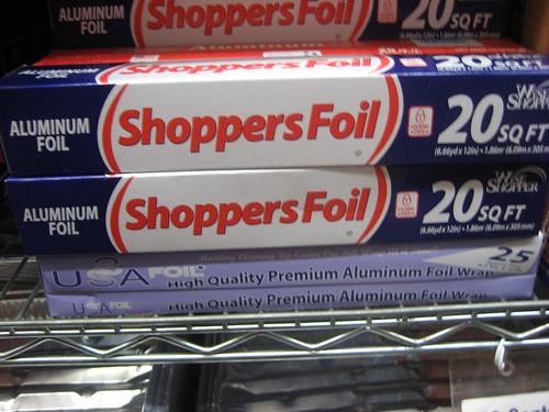Shoppers Foil