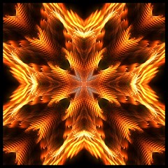 Maltese Cross (fractal) (Lyle58) Tags: red orange abstract geometric circle kaleidoscope symmetry zen harmony reflective symmetrical balance circular allrightsreserved kscope kaleidoscopic kaleidoscopes kaleidoscopefun kaleidoscopesonly lyle58