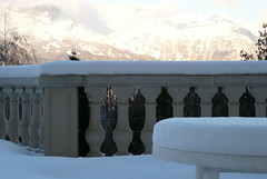 A l'arrive, tat de la neige!! (La Pom ) Tags: alpes hiver neige savoie plm montagnes combloux lapomme lapom