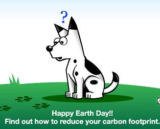 DogPile Earth Day Logo