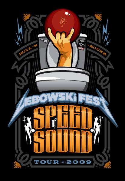 Lebowski Fest: Speed of Sound Tour 2009
