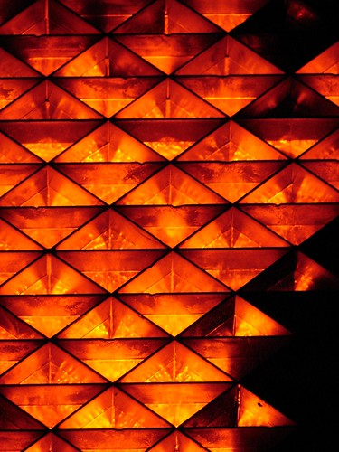 abstract photograph orange pattern
