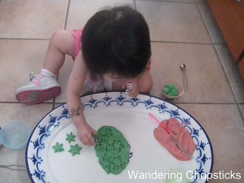 Homemade Play Dough 5