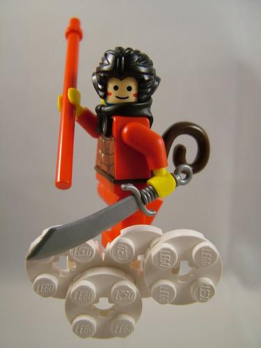 Monkey King custom minifig