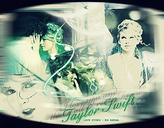 pra atualizarrr (Rafaa.) Tags: green love girl photoshop video country story taylor singer swift fearless blend songwritter