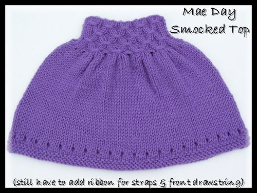 S's smocked top