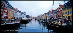 New Harbor (Matthew Wedgwood) Tags: water copenhagen denmark boats nyhavn canal europe dusk danmark københavn newharbor