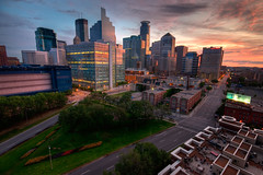 Downtown Minneapolis from Grant Park (Greg Benz Photography) Tags: cityscape explored twincitiesskyline minneapolishdr carbonsilverphotography downtownminneapolisskylinephoto