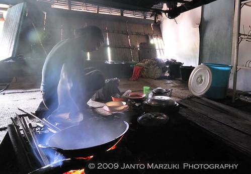Rumah Adat Batak Karo, Brastagi Sumatera Utara
