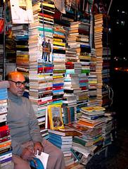 Tehran, BookSeller on Enghalab