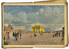 Gateway of India, Mumbai - India (Humayunn N A Peerzaada) Tags: sky people cloud india texture clouds lens book model photographer crowd landmark tourist tourists fisheye tokina textures layer actor layers maharashtra crow mumbai crows crowds gatewayofindia humayun d90 tokinalens coloradosky peerzada playingwithpsp tokinafisheye nikond90 humayunn peerzaada humayoon wwwhumayooncom opollobunder humayunnapeerzaada tokinafisheyelens tatteredbook nikond90clubasia humayunnnapeezaada 10to17mmf3545 daxagon opentatteredbook whitecoloradosky