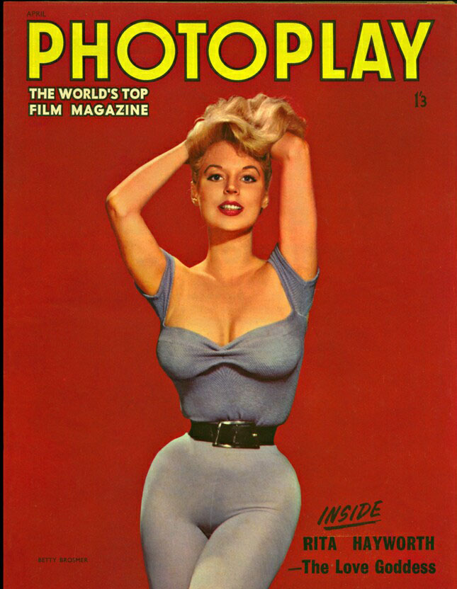 betty brosmer photoplay