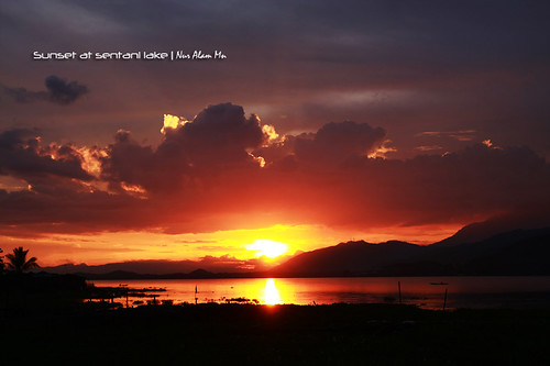 Sunset [at sentani lake]