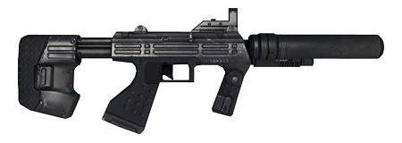 Halo 3 ODST (Silenced SMG)