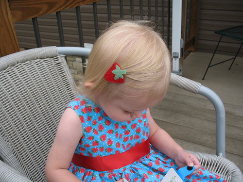 Strawberry Barrette