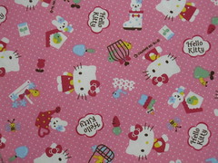 New Hello Kitty fabric from Summer 2009 line (This and That From Japan) Tags: pink cute japan cat japanese hellokitty sanrio cotton etsy yardage thisandthatfromjapan