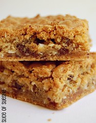 chococonutoffee blondies